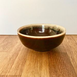 Pfaltgraff Drip Brown cereal or soup bowl